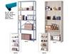 """EXTRA SHELVES FOR HEAVY DUTY 36"""" W. INDUSTRIAL SHELVING"""